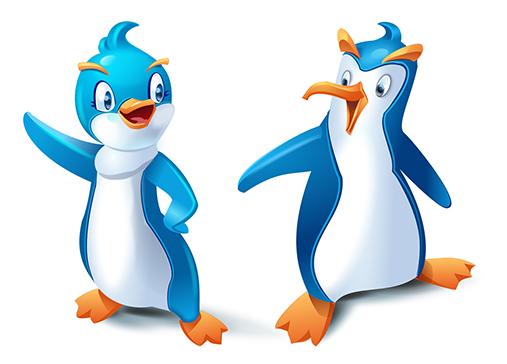 2penguins-2d-animation