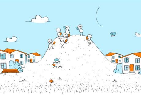 Заказ на рекламный ролик 2D анимация для компании 4 палки выполнен студией Инфомульт
