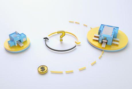 Видео инфографика для поиска партнеров в ролике c 3D графикой от студии Инфомультут