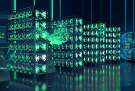 3d анимационный ролик для системы майнинга COIN FLY от студии Инфомульт