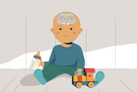 изготовление анимационных роликов о фактах «Про мозг» студия Инфомульт москва